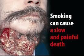 danni da fumo immagini shock