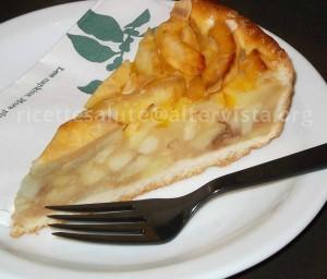 plum cake di mele  al mascarpone