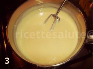 profitterol con crema di limone preparazione finale