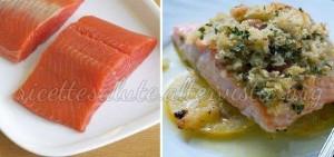 salmone gratinato2